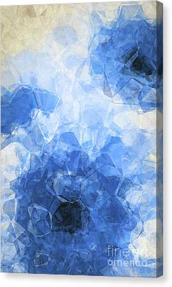 Abstract Flower Vii Canvas Print