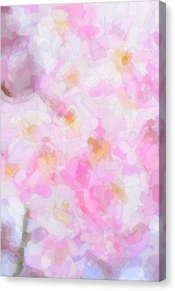 Abstract Flowers  Canvas Print by Tommytechno Sweden