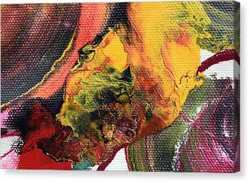 Abstract Fluid Art Canvas Print by Sumit Mehndiratta