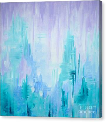 Abstract Frost 1 Canvas Print