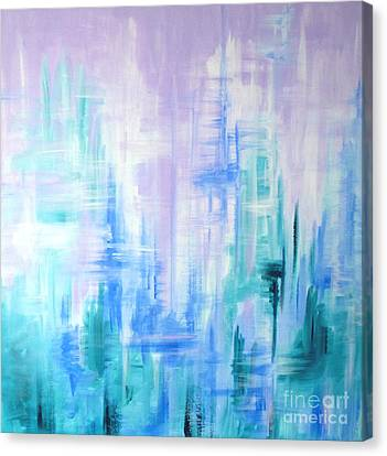 Abstract Frost 2 Canvas Print