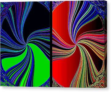 Arrest Canvas Print - Abstract Fusion 270  by Will Borden