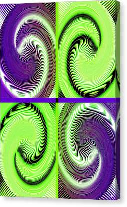 Arrest Canvas Print - Abstract Fusion 271 by Will Borden