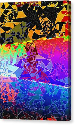Arrest Canvas Print - Abstract Fusion 273 by Will Borden
