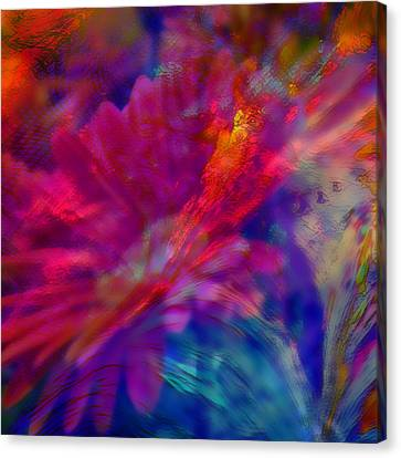 Abstract Gypsy Flower Canvas Print