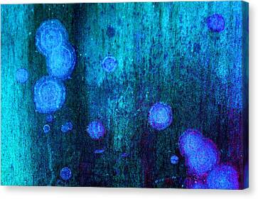 Abstract Image In Blue, Evoking The Dream And Bringing The Mind To Stimulate Canvas Print