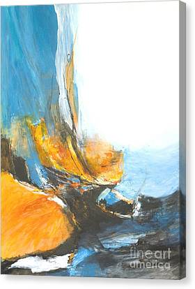 Abstract In Motion Canvas Print