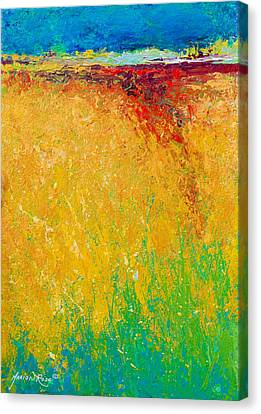 Abstract Landscape 1 Canvas Print by Marion Rose