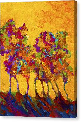 Abstract Landscape 3 Canvas Print by Marion Rose
