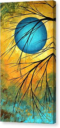 Abstract Landscape Art Passing Beauty 1 Of 5 Canvas Print by Megan Duncanson