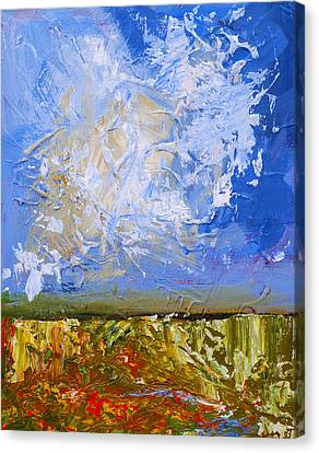 Abstract Landscape Canvas Print by Donald  Erickson