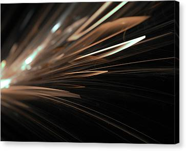 Abstract Light Streaks Background Canvas Print