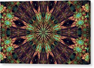 Abstract Mandala 3 Canvas Print