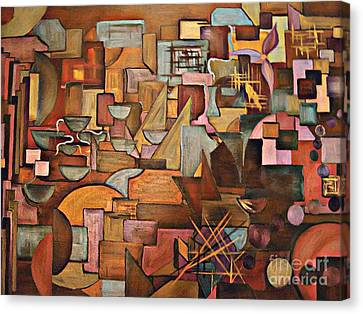 Abstract Mind Canvas Print