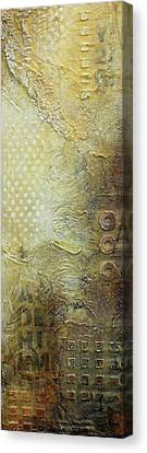 Abstract Modern Art Earth Tones Canvas Print