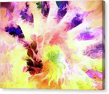 Abstract Art On Canvas Print - Abstract - Nautilus by Jon Woodhams