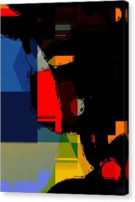 Abstract Night Canvas Print