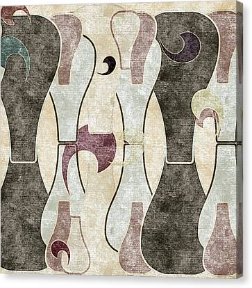 Geometric Canvas Print - Abstract No. 67-1 by Sandy Taylor