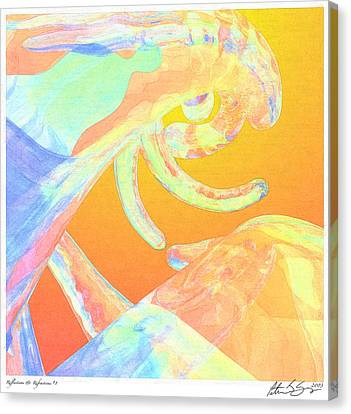 Canvas Print featuring the photograph Abstract Number 1 by Peter J Sucy