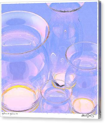Canvas Print featuring the photograph Abstract Number 18 by Peter J Sucy
