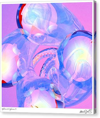 Canvas Print featuring the photograph Abstract Number 7 by Peter J Sucy