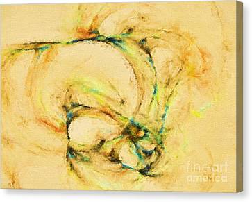 Abstract Of Hope Canvas Print