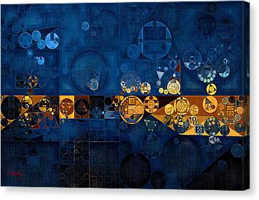 Abstract Painting - Anzac Canvas Print