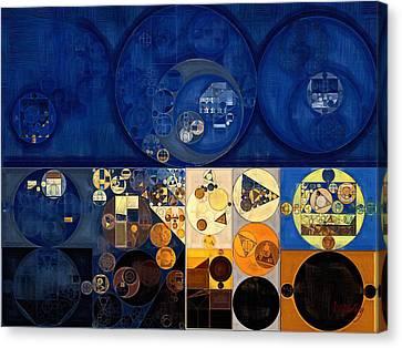 Abstract Painting - Apache Canvas Print by Vitaliy Gladkiy