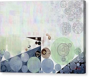 Abstract Painting - Athens Grey Canvas Print by Vitaliy Gladkiy
