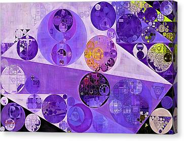 Abstract Painting - Blackcurrant Canvas Print by Vitaliy Gladkiy