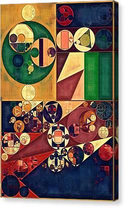 Abstract Painting - Cherokee Canvas Print by Vitaliy Gladkiy