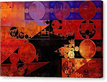 Abstract Painting - Chilean Fire Canvas Print