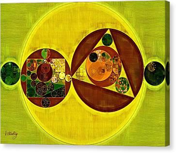 Abstract Painting - Citrine Canvas Print by Vitaliy Gladkiy