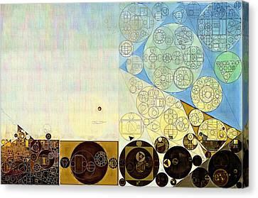 Abstract Painting - Gin Canvas Print by Vitaliy Gladkiy