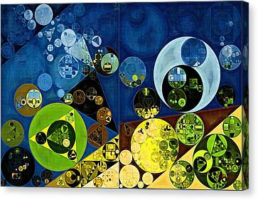 Abstract Painting - Goldenrod Canvas Print by Vitaliy Gladkiy