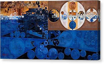 Abstract Painting - Havana Canvas Print