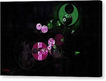 Abstract Painting - Heavy Metal Canvas Print by Vitaliy Gladkiy