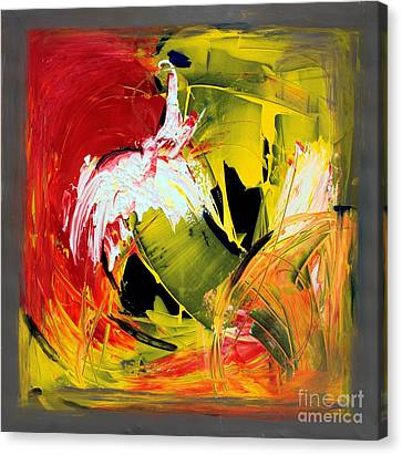Abstract Painting Canvas Print by Mario Zampedroni