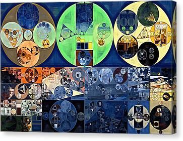 Abstract Painting - Midnight Express Canvas Print by Vitaliy Gladkiy