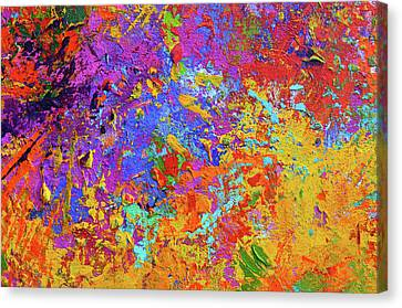 Abstract Painting Modern Art 1 Canvas Print by Patricia Awapara