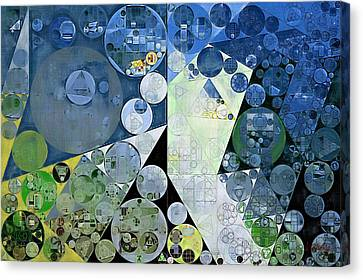 Abstract Painting - Paris White Canvas Print by Vitaliy Gladkiy
