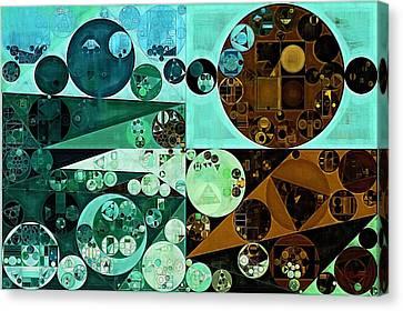 Abstract Painting - Riptide Canvas Print by Vitaliy Gladkiy