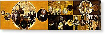 Abstract Painting - Sahara Canvas Print