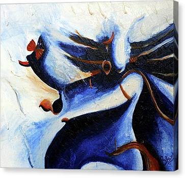 Abstract Painting  Canvas Print by Shweta Singh