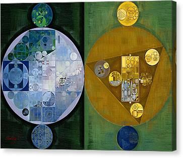 Abstract Painting - Stromboli Canvas Print by Vitaliy Gladkiy