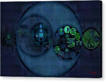 Abstract Painting - Tangaroa Canvas Print by Vitaliy Gladkiy
