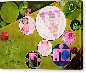 Abstract Painting - Tea Rose Canvas Print by Vitaliy Gladkiy