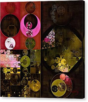 Abstract Painting - Tonys Pink Canvas Print by Vitaliy Gladkiy