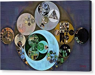 Abstract Painting - Tuna Canvas Print by Vitaliy Gladkiy