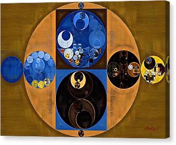 Abstract Painting - Tussock Canvas Print by Vitaliy Gladkiy